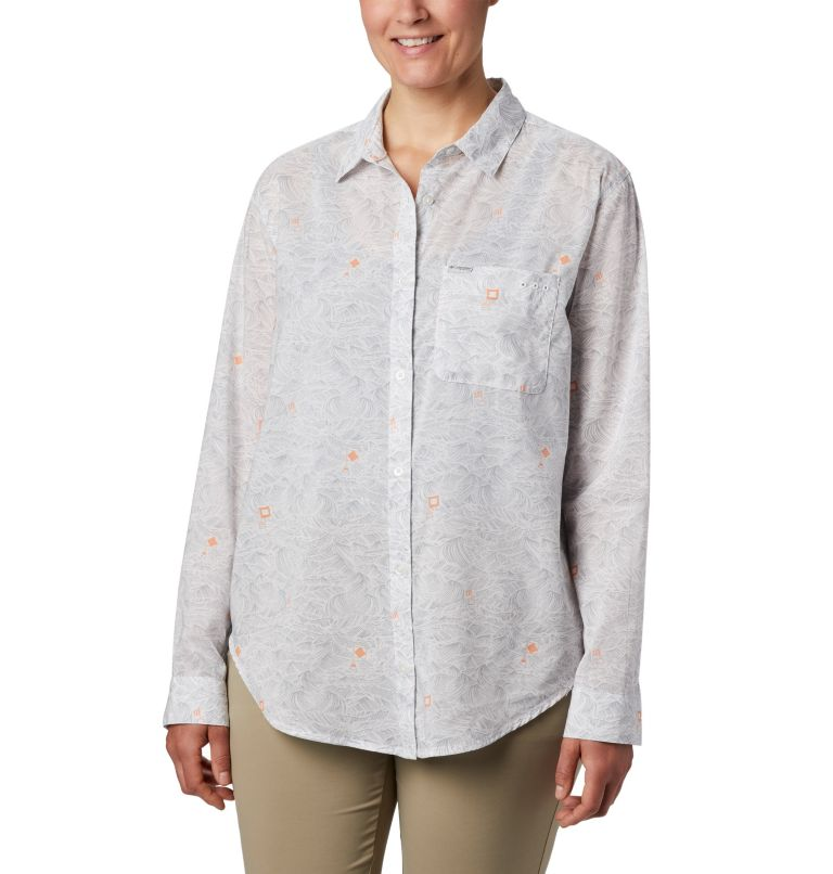 Women's PFG Sun Drifter™ II Long Sleeve Shirt Women's PFG Sun Drifter™ II Long Sleeve Shirt, front