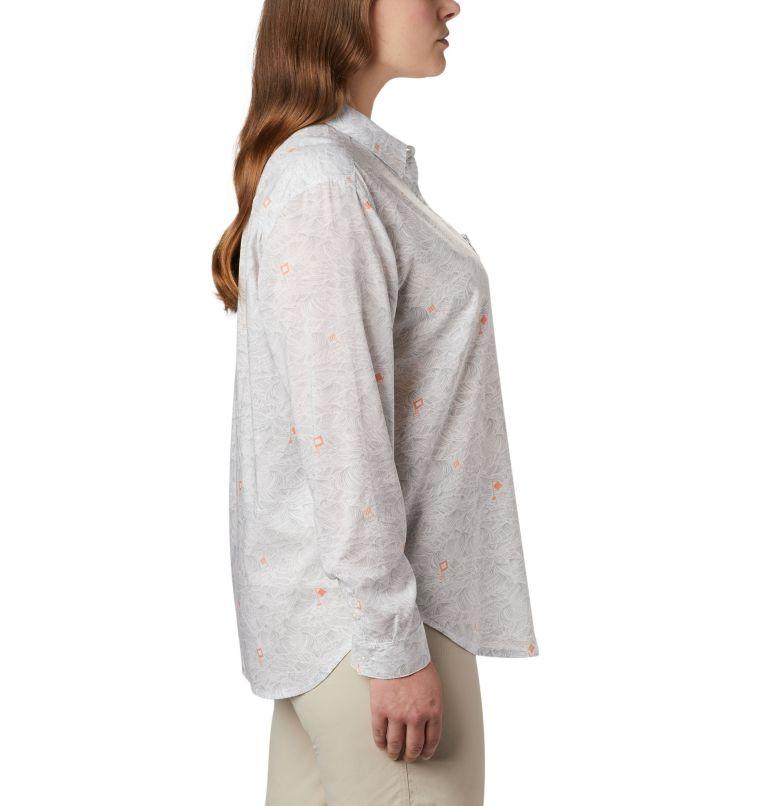 Women's PFG Sun Drifter™ II Long Sleeve Shirt - Plus Size Women's PFG Sun Drifter™ II Long Sleeve Shirt - Plus Size, a1