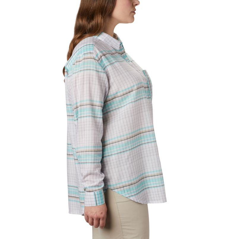 Women's PFG Sun Drifter™ II Long Sleeve Shirt - Plus Size Women's PFG Sun Drifter™ II Long Sleeve Shirt - Plus Size, a1