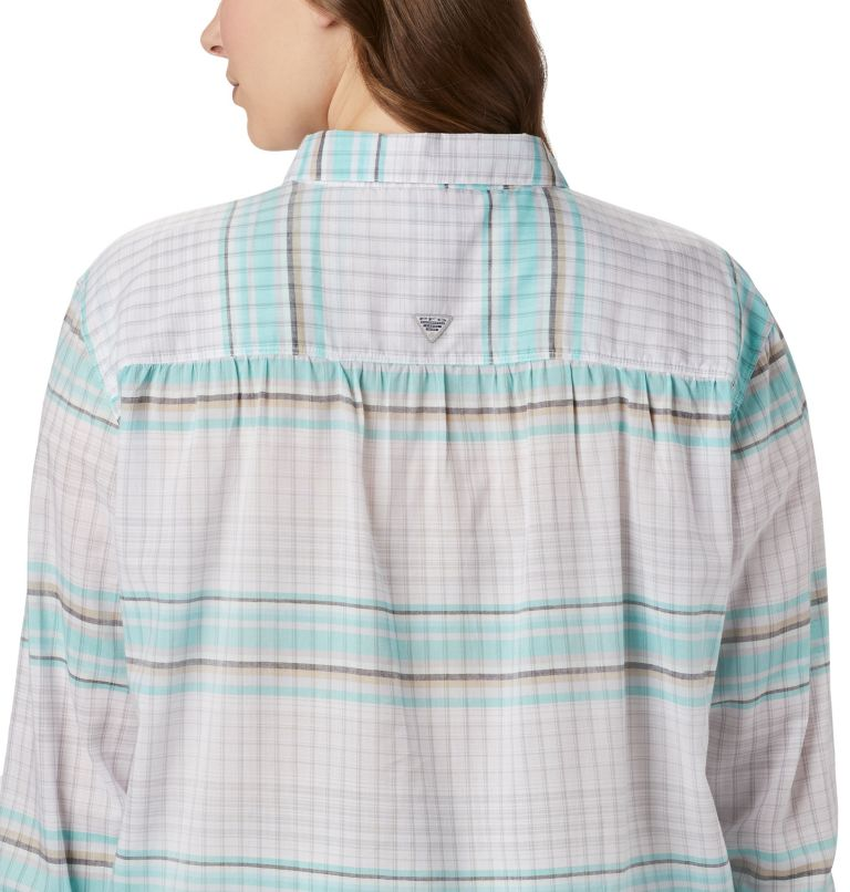 Women's PFG Sun Drifter™ II Long Sleeve Shirt - Plus Size Women's PFG Sun Drifter™ II Long Sleeve Shirt - Plus Size, a3