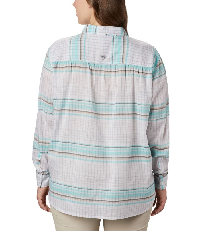 Women's PFG Sun Drifter™ II Long Sleeve Shirt - Plus Size Women's PFG Sun Drifter™ II Long Sleeve Shirt - Plus Size, back