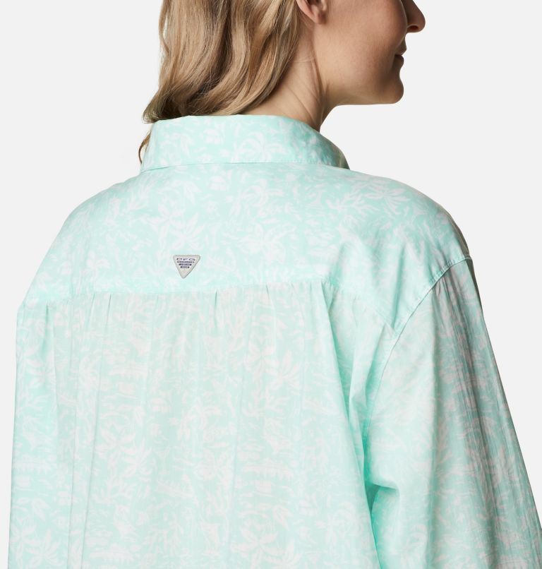 Women's PFG Sun Drifter™ II Long Sleeve Shirt - Plus Size Women's PFG Sun Drifter™ II Long Sleeve Shirt - Plus Size, a3