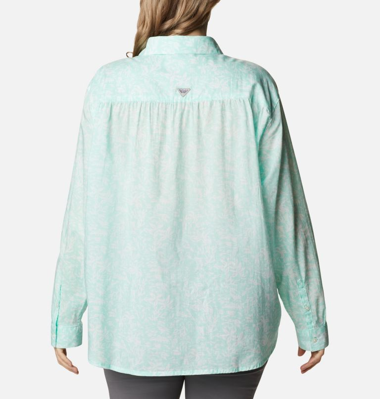 Women's PFG Sun Drifter™ II Long Sleeve Shirt - Plus Size Women's PFG Sun Drifter™ II Long Sleeve Shirt - Plus Size, back