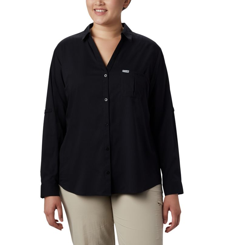 Women's PFG Armadale™ Long Sleeve Shirt - Plus Size Women's PFG Armadale™ Long Sleeve Shirt - Plus Size, front