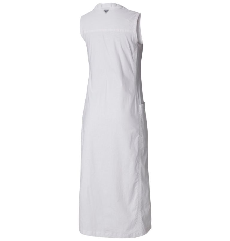 Women's PFG Harborside™ Linen Maxi Dress Women's PFG Harborside™ Linen Maxi Dress, back