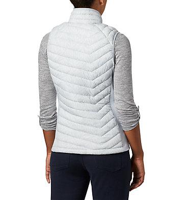 Women's Powder Pass™ Vest Powder Pass™ Vest   031   L, Cirrus Grey Ferny Ferns Print, back