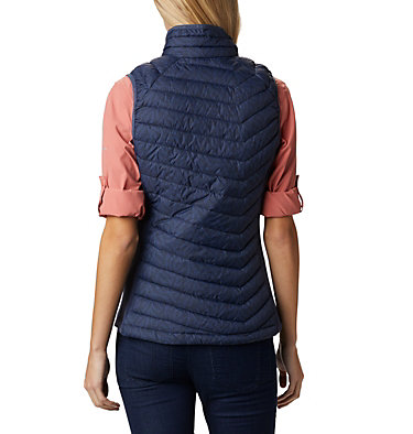 Veste Sans Manches Powder Pass™ Femme Powder Pass™ Vest | 012 | XS, Nocturnal Ferny Ferns Print, back