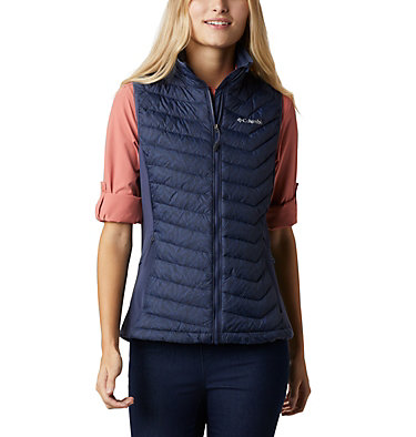 Women's Powder Pass™ Vest Powder Pass™ Vest | 012 | XS, Nocturnal Ferny Ferns Print, front