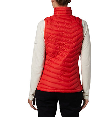Women's Powder Pass™ Vest Powder Pass™ Vest | 012 | XS, Bold Orange, back