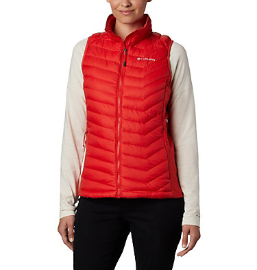 Powder Pass™ Damenweste Powder Pass™ Vest | 012 | XS, Bold Orange, front