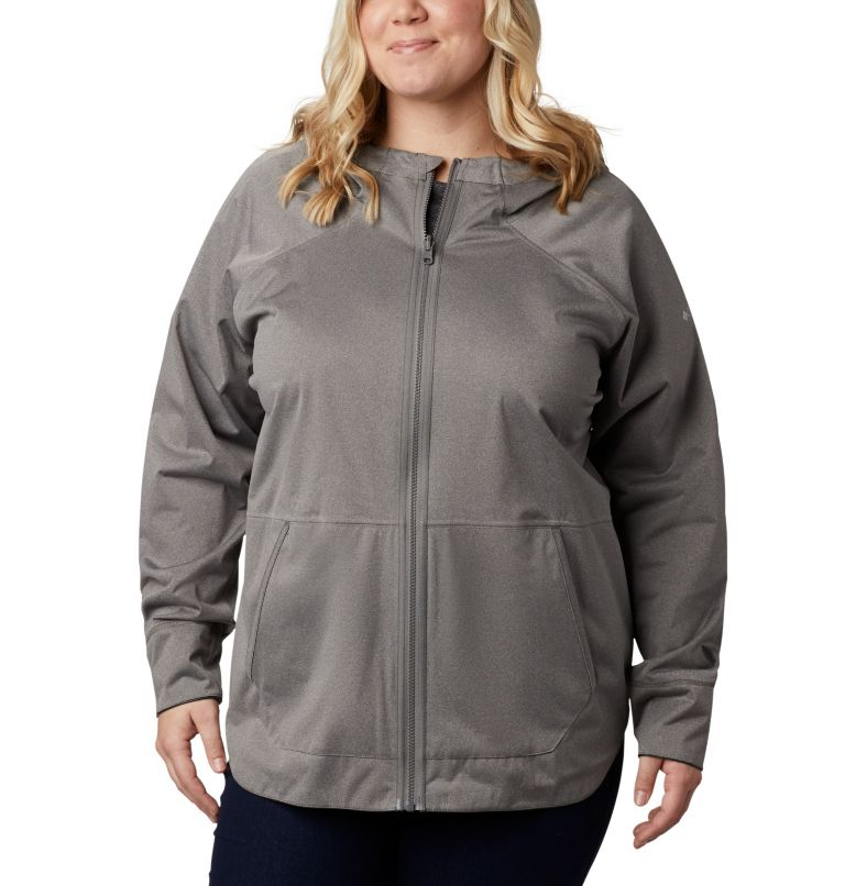 OutDry Ex™ Reversible II Jacket | 012 | 1X Women's OutDry Ex™ Reversible II Jacket - Plus Size, Black, a3
