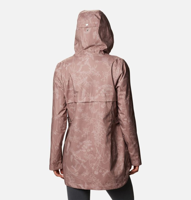 Women's Here And There™ Trench Jacket Women's Here And There™ Trench Jacket, back
