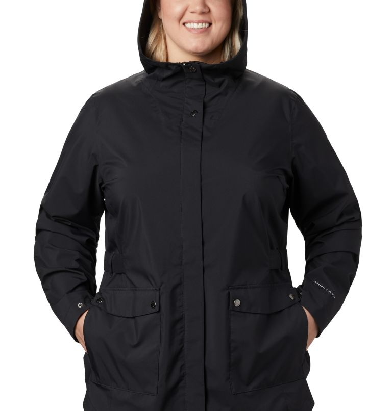 Women's Here And There™ Trench Jacket—Plus Size Women's Here And There™ Trench Jacket—Plus Size, a2