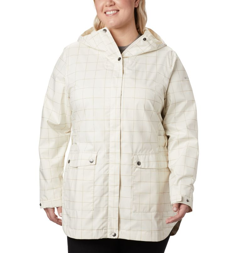 Women's Here And There™ Trench Jacket—Plus Size Women's Here And There™ Trench Jacket—Plus Size, front