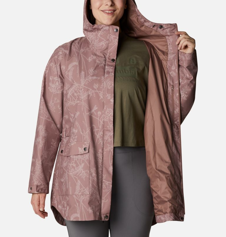 Women's Here And There™ Trench Jacket—Plus Size Women's Here And There™ Trench Jacket—Plus Size, a3