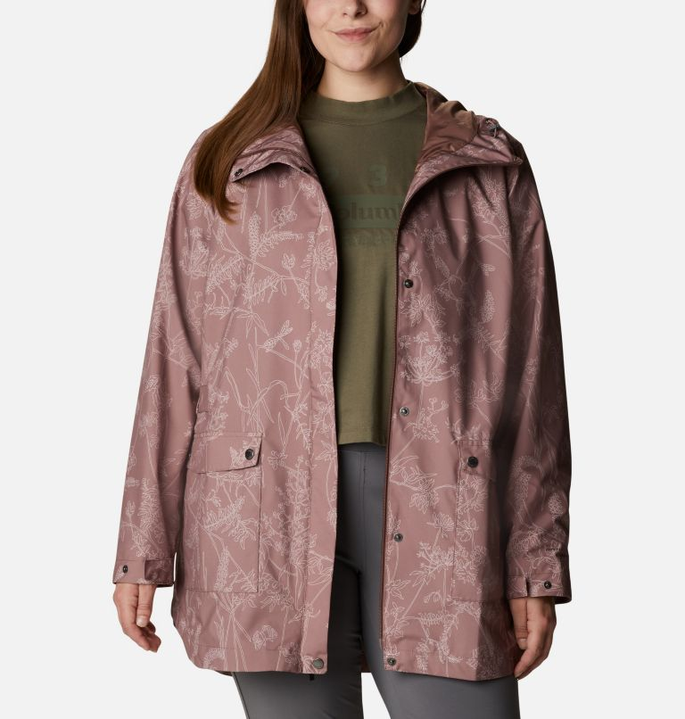 Women's Here And There™ Trench Jacket—Plus Size Women's Here And There™ Trench Jacket—Plus Size, a4