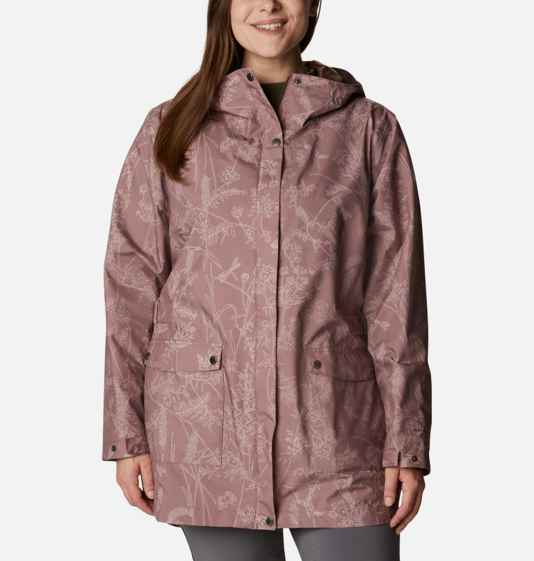 Trench Here And There™ pour femme — Grandes tailles Trench Here And There™ pour femme — Grandes tailles, front