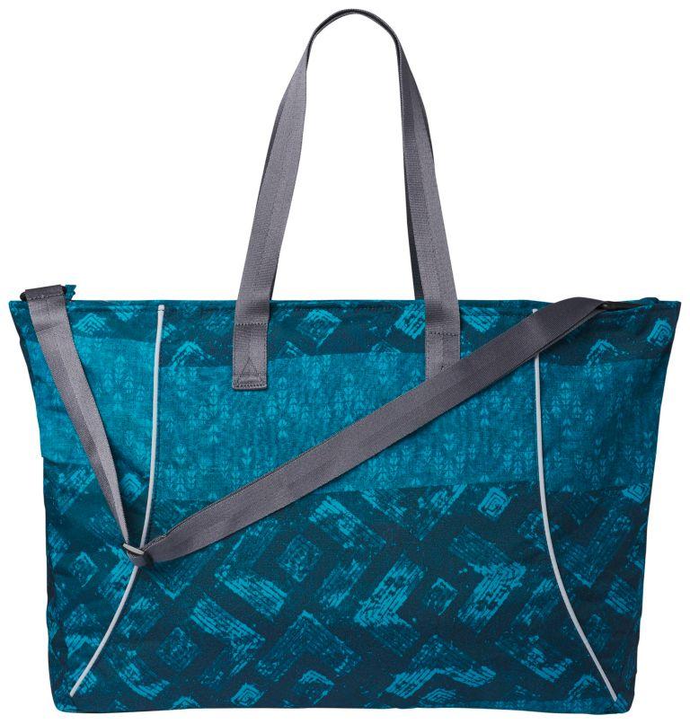 Urban Lifestyle™ Yoga Tote   403   O/S Women's Urban Lifestyle™ Yoga Tote, Petrol Blue Batik Stripe, back
