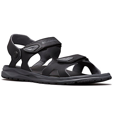 Men's Wayfinder™ 2 Strap Sandal WAYFINDER™ 2 STRAP | 010 | 10, Black, Graphite, 3/4 front