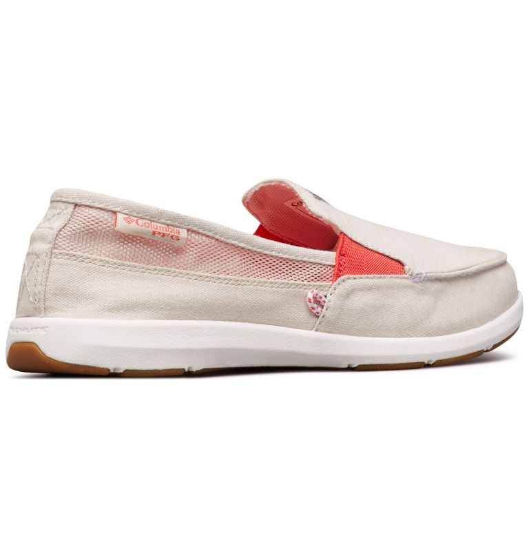 DELRAY™ II SLIP PFG | 102 | 7 Women's PFG Delray™ II Slip Shoe, Fawn, Red Coral, 3/4 back