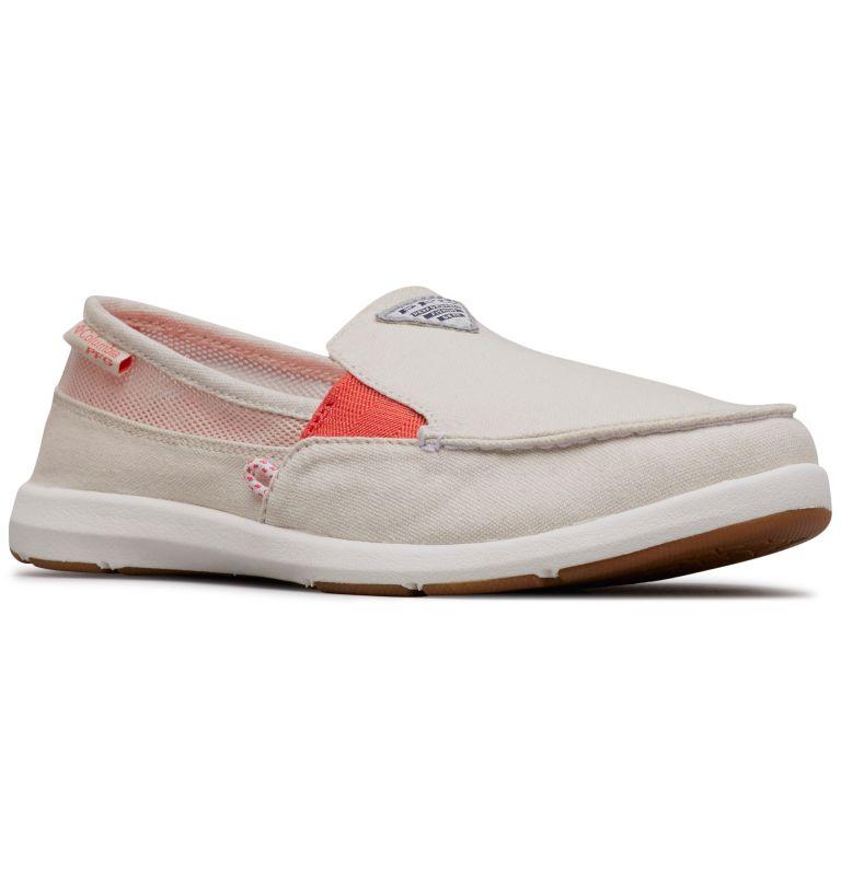 DELRAY™ II SLIP PFG | 102 | 9 Women's PFG Delray™ II Slip Shoe, Fawn, Red Coral, 3/4 front