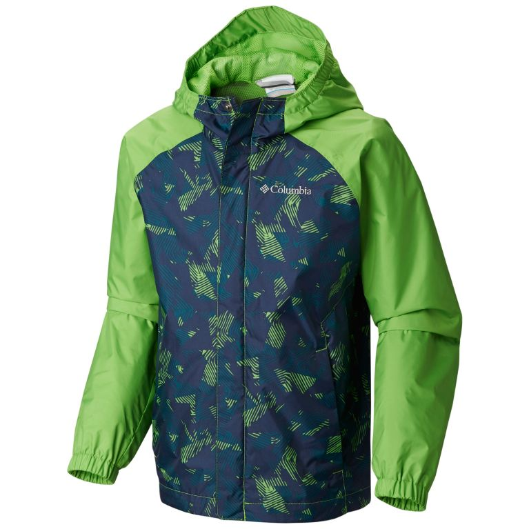 Columbia Kids Mens Fast and Curious/¿ II Rain Jacket Toddler