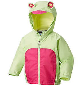 Toddler Kitteribbit™ Fleece Lined Rain Jacket