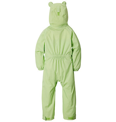 Infant Kitteribbit™ Rain Suit Kitteribbit™ Rain Suit | 358 | 0/3, Jade Lime, Haute Pink, back
