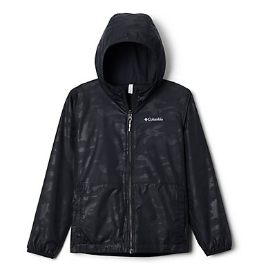 Kids' Pixel Grabber™ Reversible Jacket Pixel Grabber™ Reversible Jacket   638   L, Black Camo, front