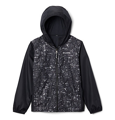 Kids' Pixel Grabber™ Reversible Jacket Pixel Grabber™ Reversible Jacket | 612 | L, Black Camp Supplies, front