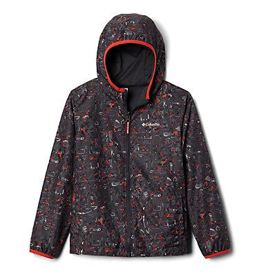 Kids' Pixel Grabber™ Reversible Jacket Pixel Grabber™ Reversible Jacket   638   L, Shark Camp Supplies, front