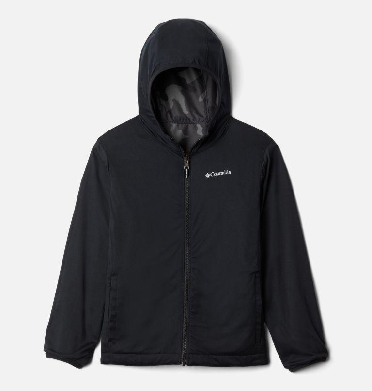 Pixel Grabber™ Reversible Jacket | 013 | XS Kids' Pixel Grabber™ Reversible Jacket, Black Trad Camo, a1