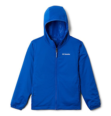 Kids' Pixel Grabber™ Reversible Jacket Pixel Grabber™ Reversible Jacket | 638 | L, Azul Camo, a1