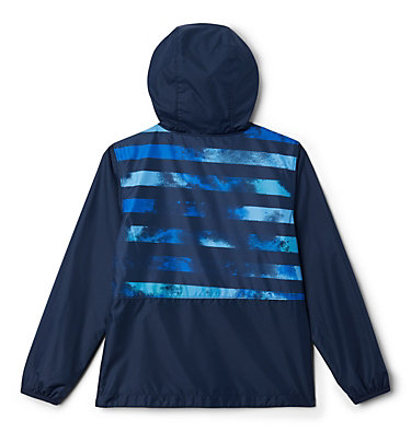 Kids' Pixel Grabber™ Reversible Jacket Pixel Grabber™ Reversible Jacket   638   L, Collegiate Navy Tie Dye Stripe, back