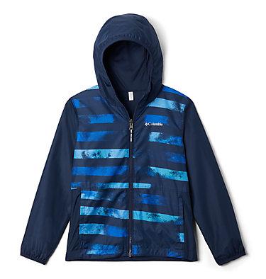 Kids' Pixel Grabber™ Reversible Jacket Pixel Grabber™ Reversible Jacket   638   L, Collegiate Navy Tie Dye Stripe, front