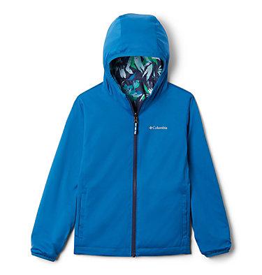 Kids' Pixel Grabber™ Reversible Jacket Pixel Grabber™ Reversible Jacket   638   L, Nocturnal Magnolia Floral, a1