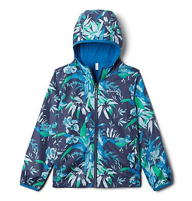 Kids' Pixel Grabber™ Reversible Jacket Pixel Grabber™ Reversible Jacket   638   L, Nocturnal Magnolia Floral, front