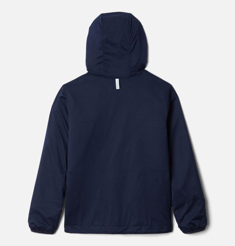 Pixel Grabber™ Reversible Jacket | 473 | XS Kids' Pixel Grabber™ Reversible Jacket, Dark Nocturnal Art Bouquet, a2