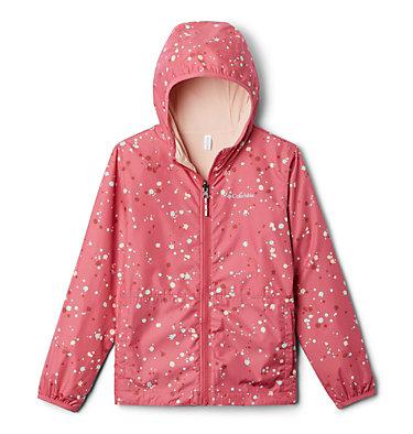 Kids' Pixel Grabber™ Reversible Jacket Pixel Grabber™ Reversible Jacket | 638 | L, Rouge Pink Splatter, front