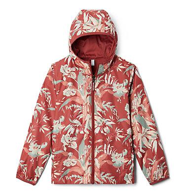 Kids' Pixel Grabber™ Reversible Jacket Pixel Grabber™ Reversible Jacket   638   L, Dusty Crimson Magnolia Floral, front