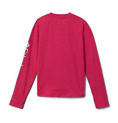 Youth Sandy Shores™ Long Sleeve Sunguard Shirt Sandy Shores™ Long Sleeve Sung | 627 | L, Cactus Pink, back