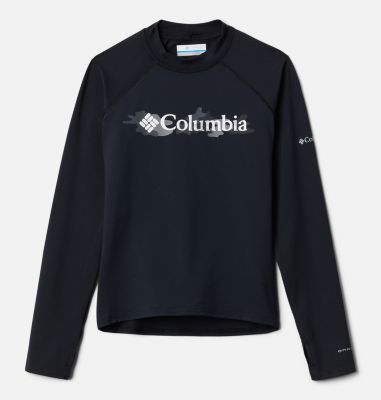 Kids' Sandy Shores™Printed Long Sleeve Sunguard Shirt | Columbia Sportswear