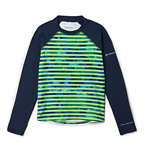 Kids' Sandy Shores™ Printed Long Sleeve Sunguard Shirt