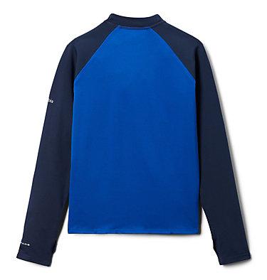 Kids' Sandy Shores™Printed Long Sleeve Sunguard Shirt Sandy Shores™Printed LS Sunguard   467   L, Azul, Coll Navy, Azul Tropical Graphic, back