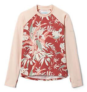 Kids' Sandy Shores™Printed Long Sleeve Sunguard Shirt