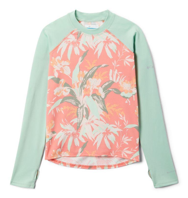 Kids' Sandy Shores™Printed Long Sleeve Sunguard Shirt Kids' Sandy Shores™Printed Long Sleeve Sunguard Shirt, front