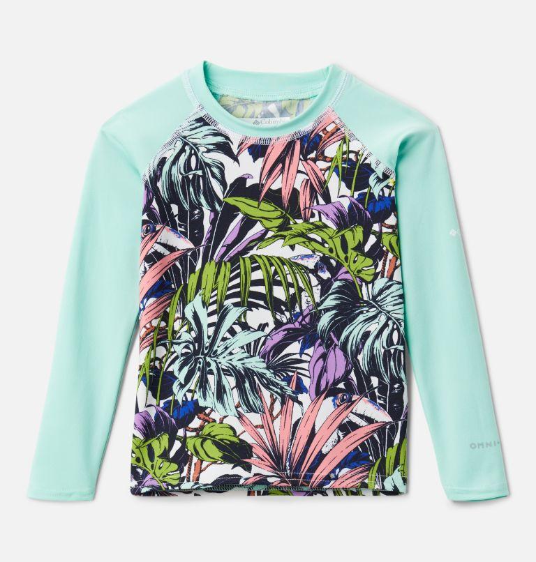 Kids' Toddler Sandy Shores™ Printed Long Sleeve Sunguard Shirt Kids' Toddler Sandy Shores™ Printed Long Sleeve Sunguard Shirt, front