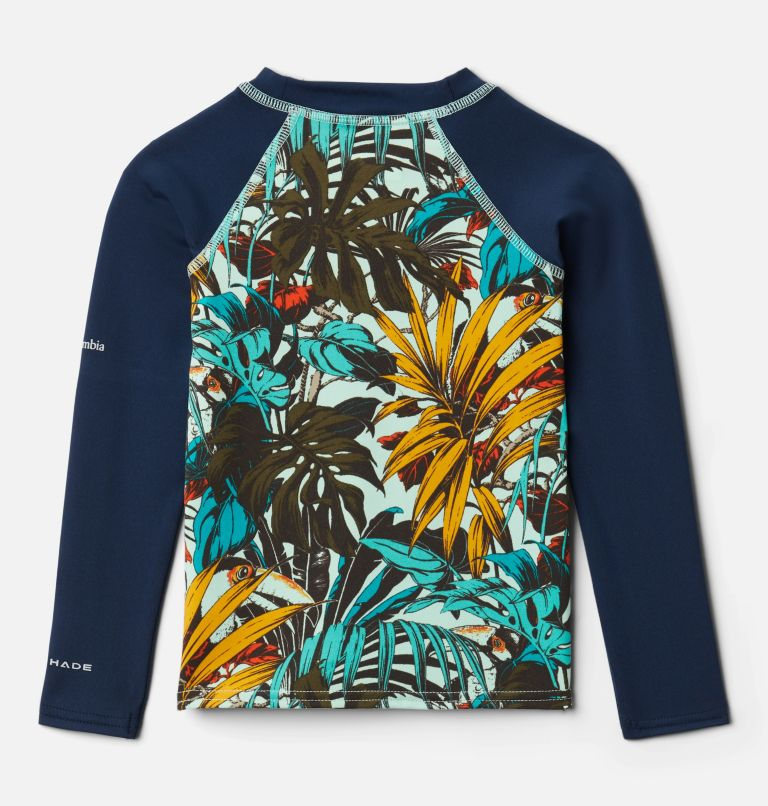 Kids' Toddler Sandy Shores™ Printed Long Sleeve Sunguard Shirt Kids' Toddler Sandy Shores™ Printed Long Sleeve Sunguard Shirt, back