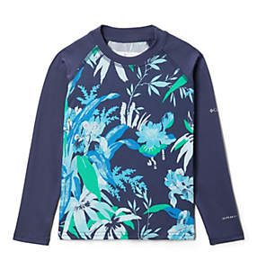 Kids' Toddler Sandy Shores™ Printed Long Sleeve Sunguard Shirt