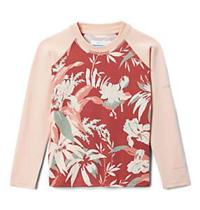 Kids' Toddler Sandy Shores™ Printed Long Sleeve Sunguard Shirt